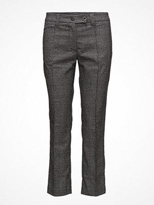 Mango mörkgrå byxor Prince Of Wales Trousers