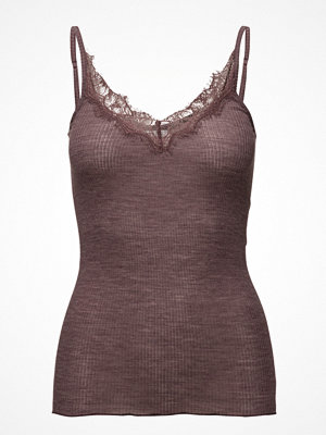 Saint Tropez Wool Singlet With Lace