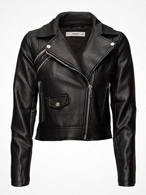 Skinnjackor - Mango Lace Up Biker Jacket