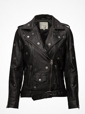 Skinnjackor - Selected Femme Sfstudi Leather Biker J