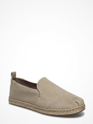 Toms Desert Taupe Washed Canvas Deconstructed Alpargata