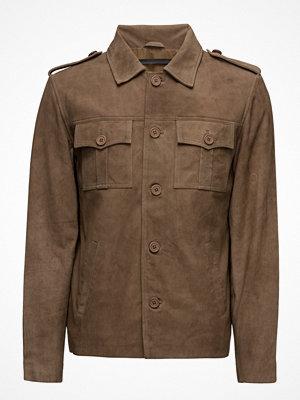 MDK / Munderingskompagniet Felix Goat Suede Jacket (Dirty Brown)