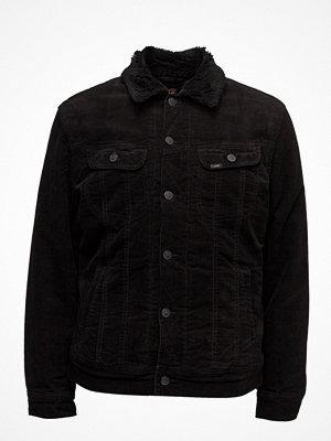 Jeansjackor - Lee Jeans Sherpa Rider Black