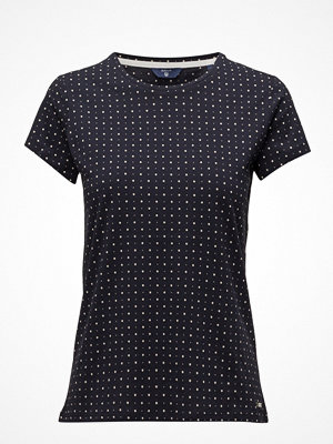 Gant Op2. Allover Dot Printed Ss T-Shirt