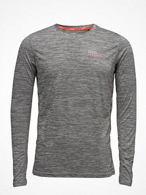 Sportkläder - Superdry Sport Coretrain Spacedye L/S Tee