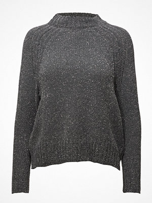 Mango Metallic Finish Sweater