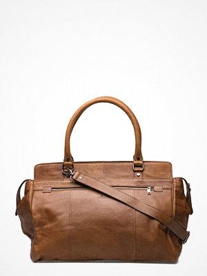 Adax brun weekendbag Napoli Weekend Bag Eugen