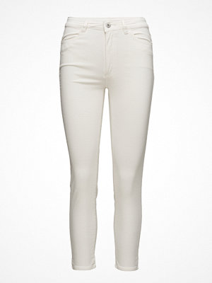 Mango vita byxor Corduroy Slim-Fit Trousers