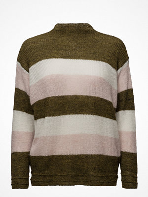 Mango Striped Mohair-Blend Sweater