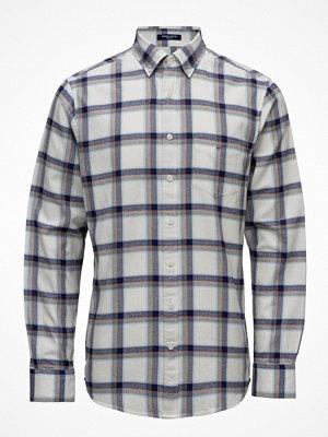 Gant Op1. Brushed Oxford Check Reg Bd