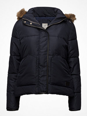 Lee Jeans Puffer Jacket Midnight Blue
