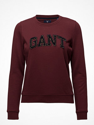 Gant Op1.Gant Gold Chenille C-Neck Sweat