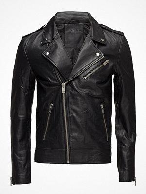 Skinnjackor - Selected Homme Shnlean Biker Jacket