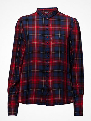 Mango Check Flowy Shirt