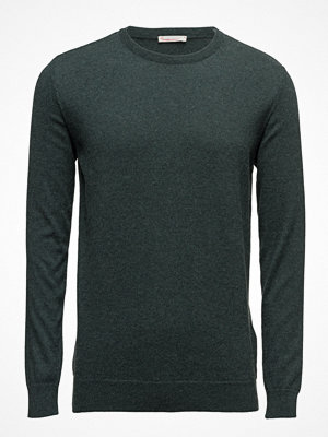 Knowledge Cotton Apparel Basic O-Neck Cotton/Cashmere - Gots