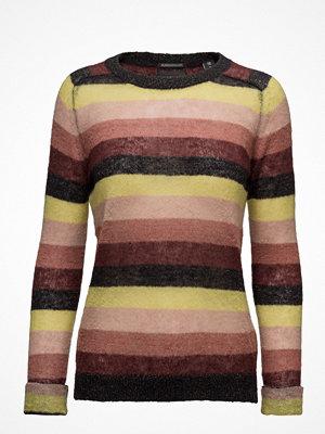 Scotch & Soda Soft Striped Crew Neck Pullover Knit