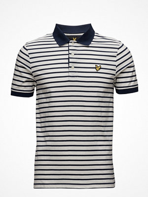 Pikétröjor - Lyle & Scott Breton Stripe Polo Shirt