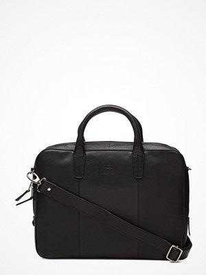 Adax svart datorväska Napoli Working Bag Glenn 14