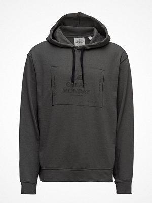 Street & luvtröjor - Cheap Monday Pullover Hood Box Logo