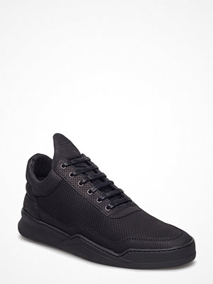 Sneakers & streetskor - Filling Pieces Low Top Ghost Microlane All Black