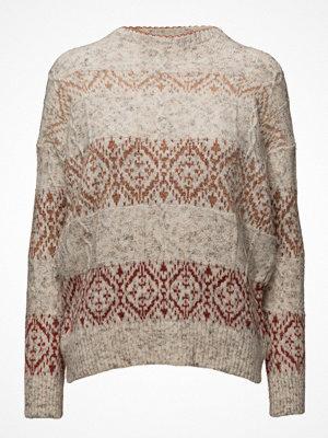 Mango Geometric Jacquard Sweater