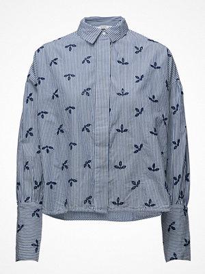 Mango Openwork Cotton Shirt