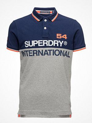 Pikétröjor - Superdry International S/S Polo