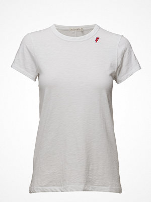 Rag & Bone The Tee With Thunder Bolt Embroidery