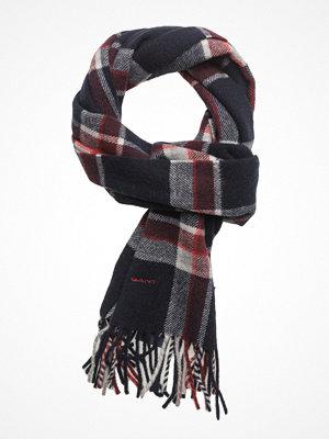 Halsdukar & scarves - Gant Op1. Checked Scarf