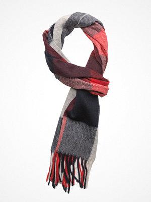 Halsdukar & scarves - Gant Op1. Block Checked Scarf