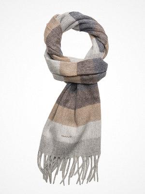 Halsdukar & scarves - Gant Op1. Block Stripe Scarf