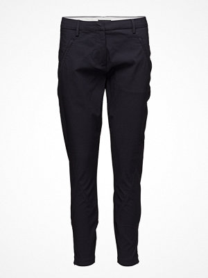Fiveunits svarta byxor Angelie 211 Zip, Navy, Pants