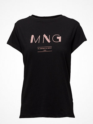 T-shirts - Mango Frayed Logo T-Shirt
