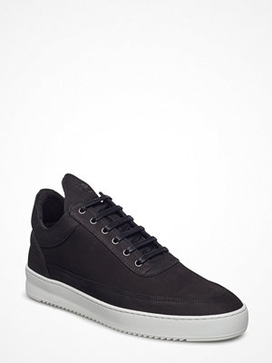 Sneakers & streetskor - Filling Pieces Low Top Lane Matt Nubuck Black