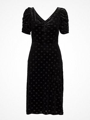 Mango Polka Dots Velvet Dress