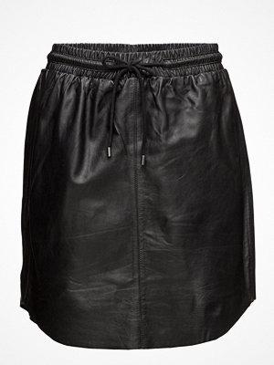 Saint Tropez Leather Skirt