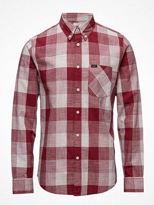 Skjortor - Lee Jeans Lee Button Down Biking Red