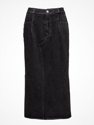 3.1 Phillip Lim Denim Skirt W Lacing