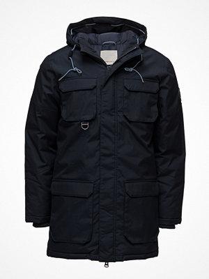 Parkasjackor - Knowledge Cotton Apparel Heavy Parka Jacket - Grs