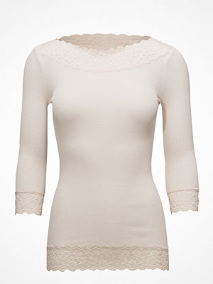 Rosemunde Silk T-Shirt Regular 3/4 S W/ Lace
