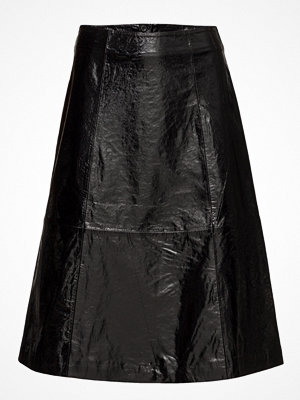 Just Female Patent Leather Skirt