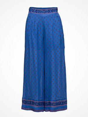 Intropia blå byxor med tryck Trouser