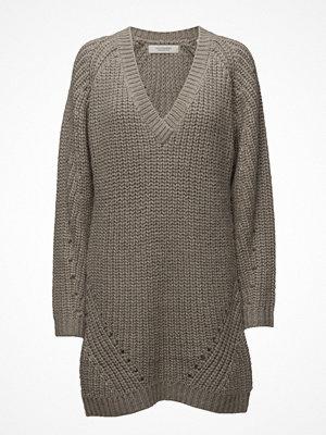 Tunikor - Scotch & Soda Knit Dress With Deep V-Neck