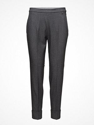 ESPRIT Collection mörkgrå byxor Pants Woven