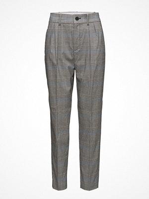 Mango rutiga byxor Prince Of Wales Suit Trousers