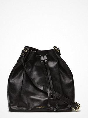 Royal Republiq svart axelväska Bucket Handbag