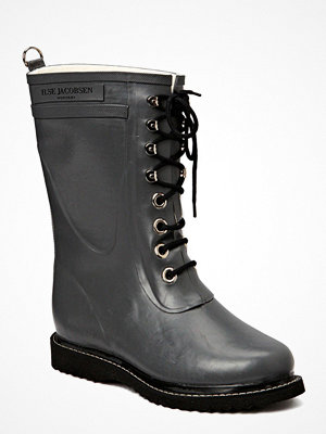 Ilse Jacobsen Rain Boot - Mid Calf, Classic With Laces