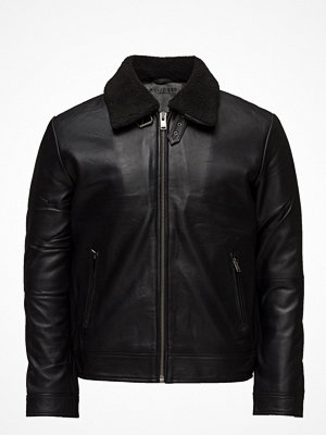 Selected Homme Shnteddy Classic Leather Jkt