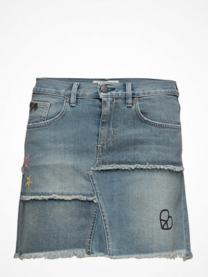 Odd Molly Band Jeans Skirt