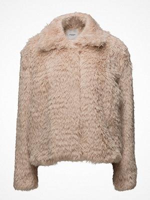 Fuskpälsjackor - Mango Lapels Faux Fur Coat